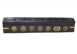 7 Chakra Incense Holder Box