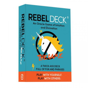 REBEL DECK: The Game (112 card oracle deck/game, boxed) by  Gomez, Shannon