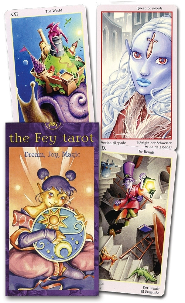 The Fey Tarot deck  BY LO SCARABEO