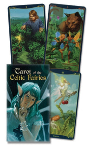 Tarot of the Celtic Fairies Deck BY MARK MCELROY, ELDAR MINIBAEV