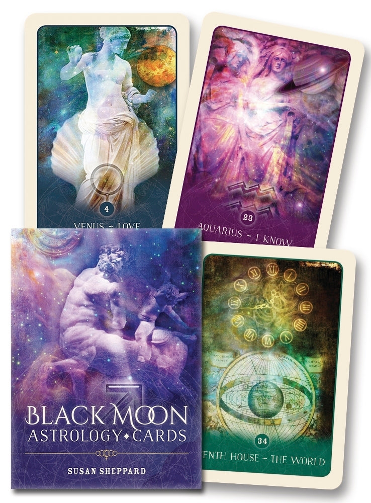Black Moon Astrology Cards BY SUSAN SHEPPARD, JANE MARIN