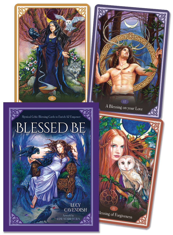Blessed Be Cards BY LUCY CAVENDISH, JANE STARR WEILS