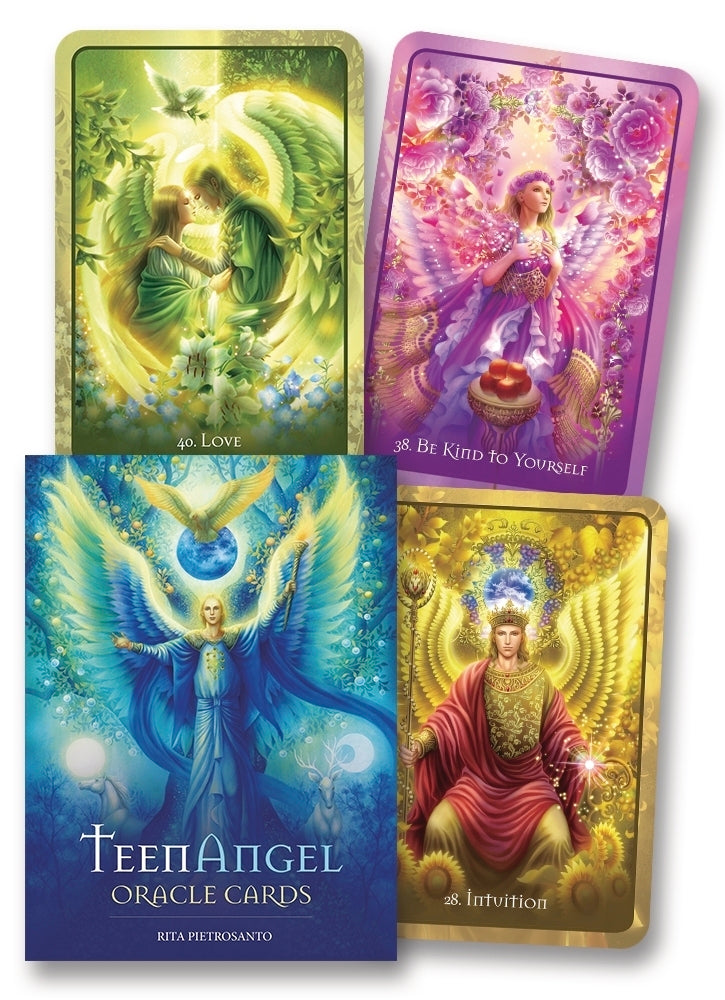 Teen Angel Oracle Cards BY RITA PIETROSANTO, MIKI OKUDA