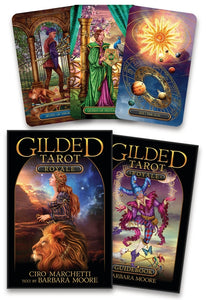 Gilded Tarot Royale  BY CIRO MARCHETTI, BARBARA MOORE