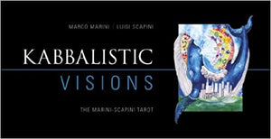 KABBALISTIC VISIONS: The Marini-Scapini Tarot (78-card deck & 160-page guidebook) by  Marini, Marco  Scapini, Luigi