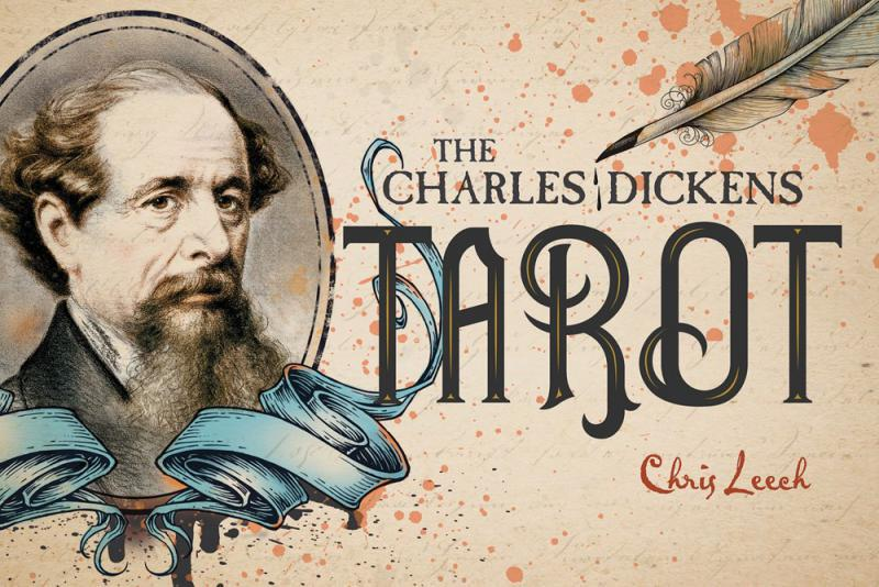 CHARLES DICKENS TAROT (78-card deck & 160-page book) by  Leech, Chris