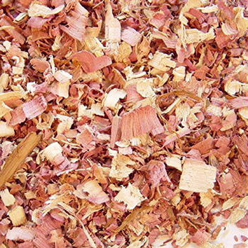 Cedar, Red wood chips