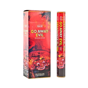 HEM Go Away Evil Incense 20 Stick Pack