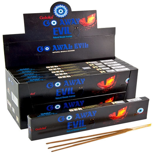 Goloka Go Away Evil Incense