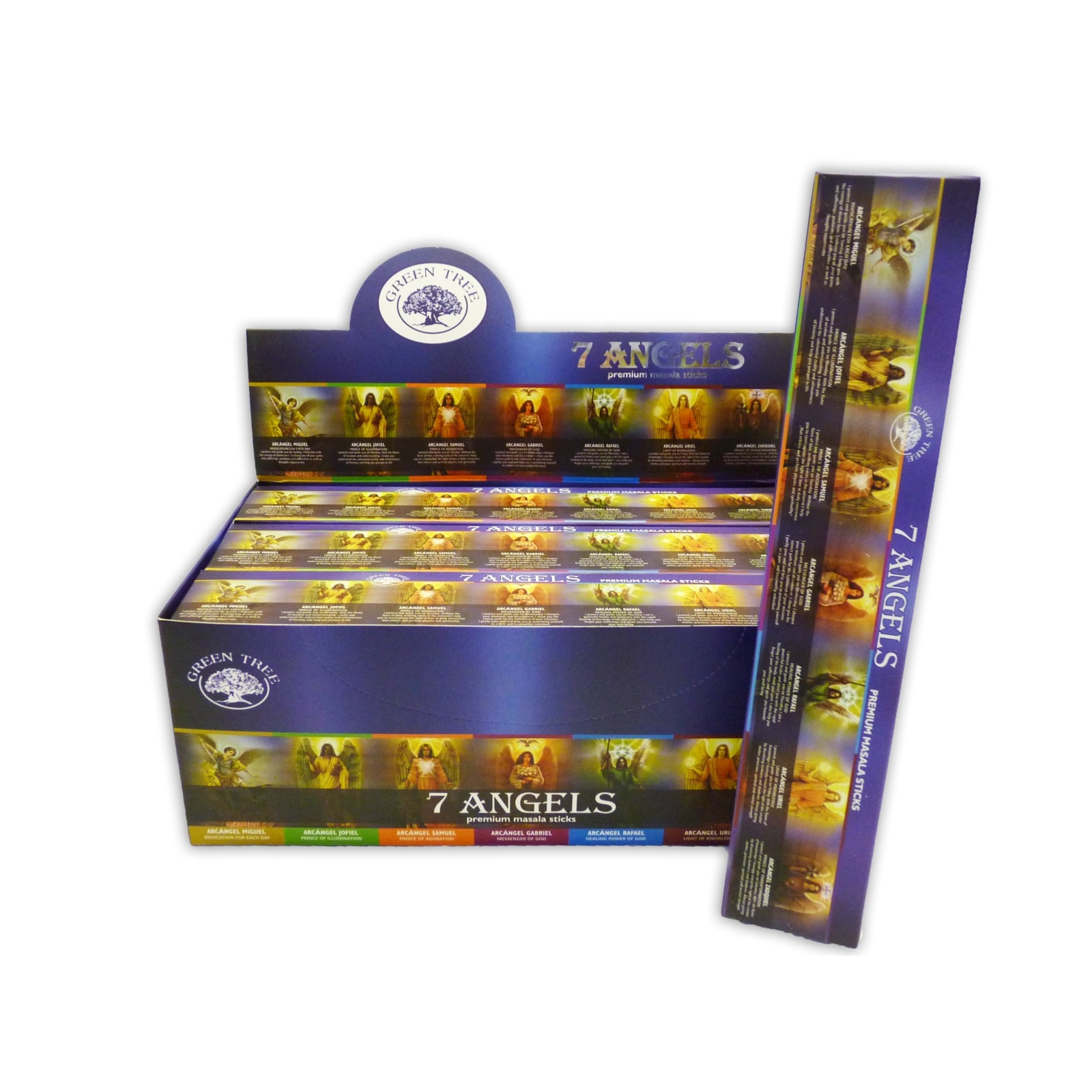 Green Tree Incense 7 Angels 15 gram