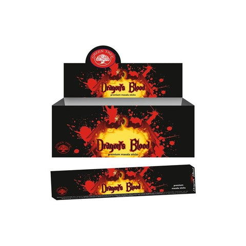 Green Tree Incense Dragons Blood 15 gram