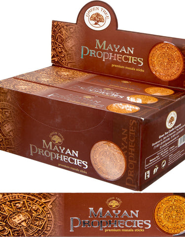 Green Tree Incense Mayan Prophecies 15 Gram