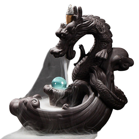 Dragon with Sphere Backflow Burner