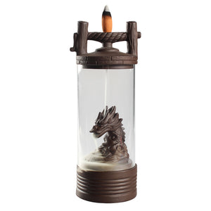 Dragon backflow windproof incense burner