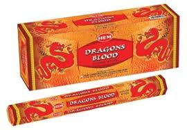 Hem Dragons Blood Incense - 20 Sticks Pack