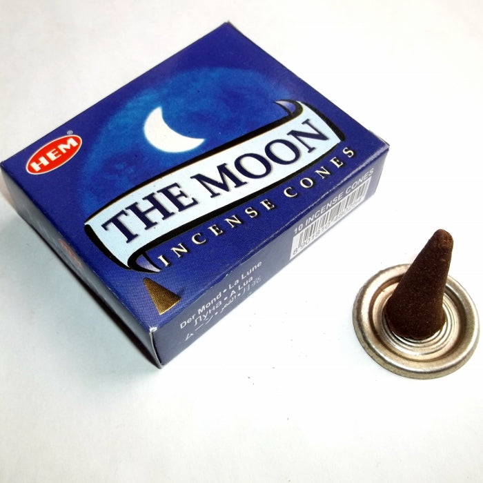 Hem Moon Incense Cone