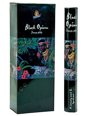 Kamini Black Opium Incense  20 Stick Packs