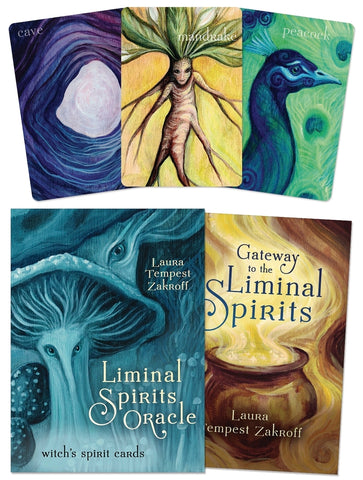 Liminal Spirits Oracle BY LAURA TEMPEST ZAKROFF