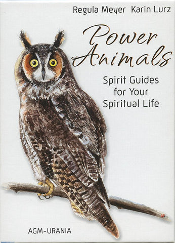 POWER ANIMALS: Spirit Guides For Your Spiritual Life (49-card deck & 60-page guidebook) by  Meyer, Regula