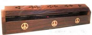 Peace Box Burner Wood