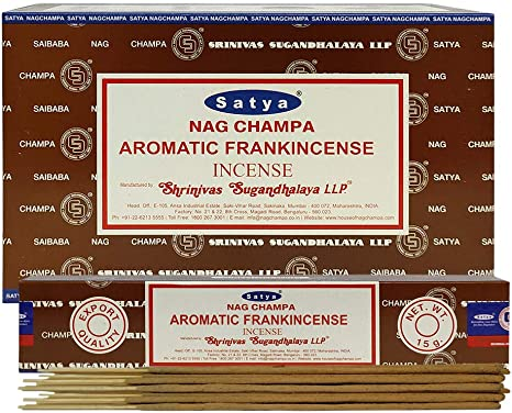 Satya AROMATIC FRANKINCENSE Incense Sticks 15 Gram