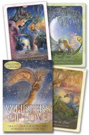 WHISPERS OF LOVE: Oracle Cards For Attracting More Love Into Your Life by  Hartfield, Angela  Wall, Josephine