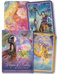Whispers of Healing Oracle Cards BY ANGELA HARTFIELD, JOSEPHINE WALL