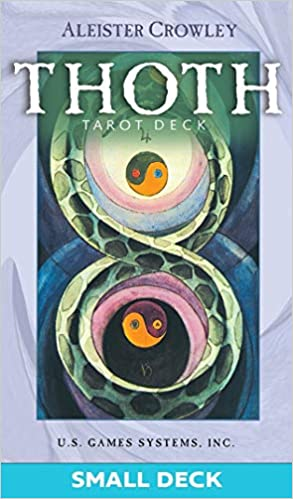 ALEISTER CROWLEY THOTH TAROT DECK (small 78-card deck) by  Crowley, Aleister