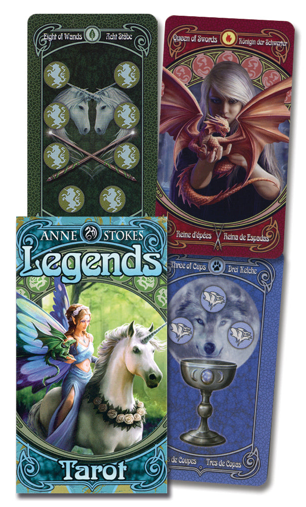 ANNE STOKES LEGENDS TAROT by  Stokes, Anne