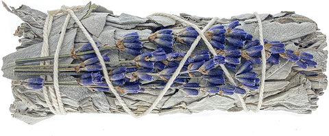 Blue Sage, Lavender  Smudge Bundle