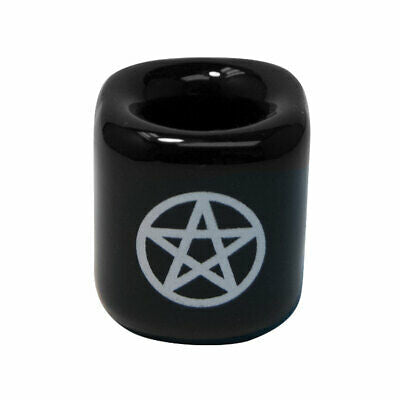 Chime Candle Holder w/ Pentacle