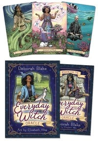 Everyday Witch Oracle  BY DEBORAH BLAKE, ELISABETH ALBA