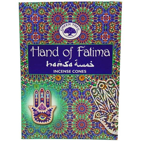 Green Tree Hand of Fatima Cone