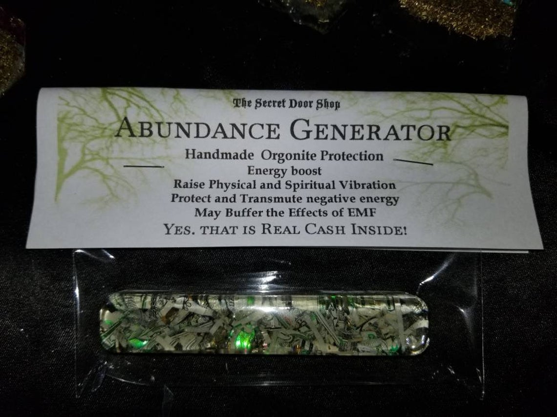 ACR Abundance money generator, orgonite