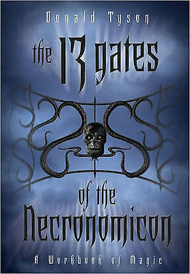 13 GATES OF THE NECRONOMICON: A Workbook Of Magic (O) by  Tyson, Donald