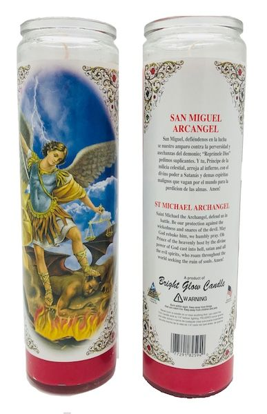 7 Day Candle Saint Michael