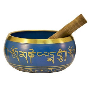 "Singing Bowl - Blue 4"" d"