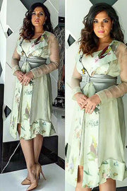 Richa Chadda In Sheer trench coat