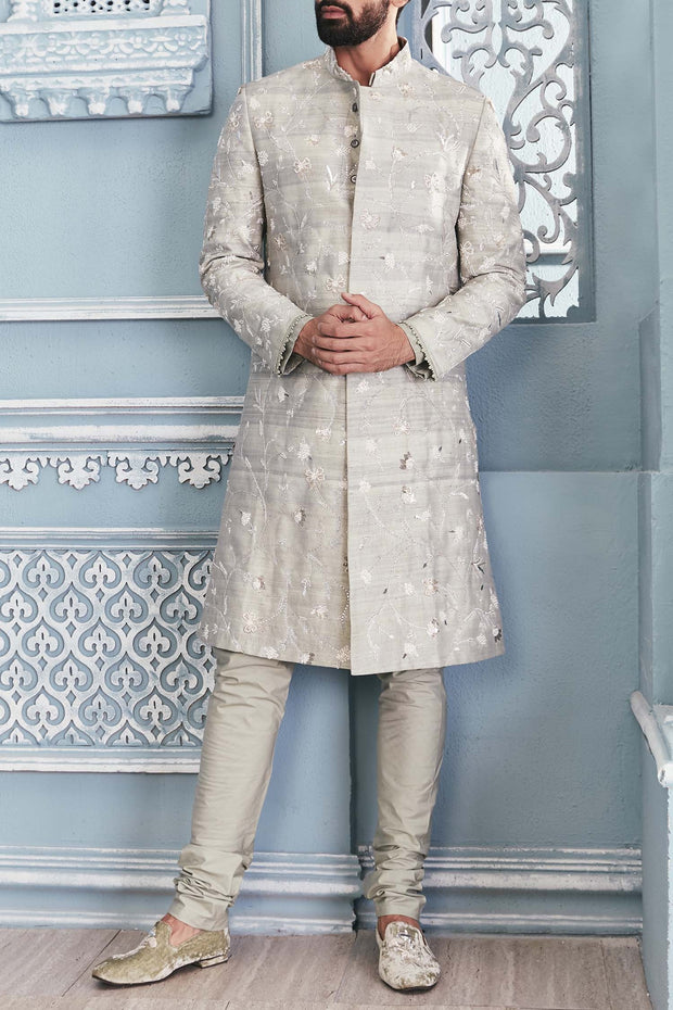 Embellished Sherwani Set