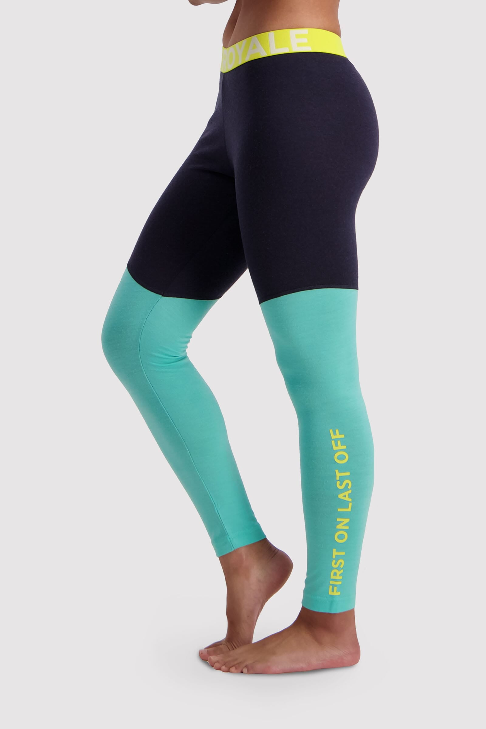 Christy Legging - Mint Edge