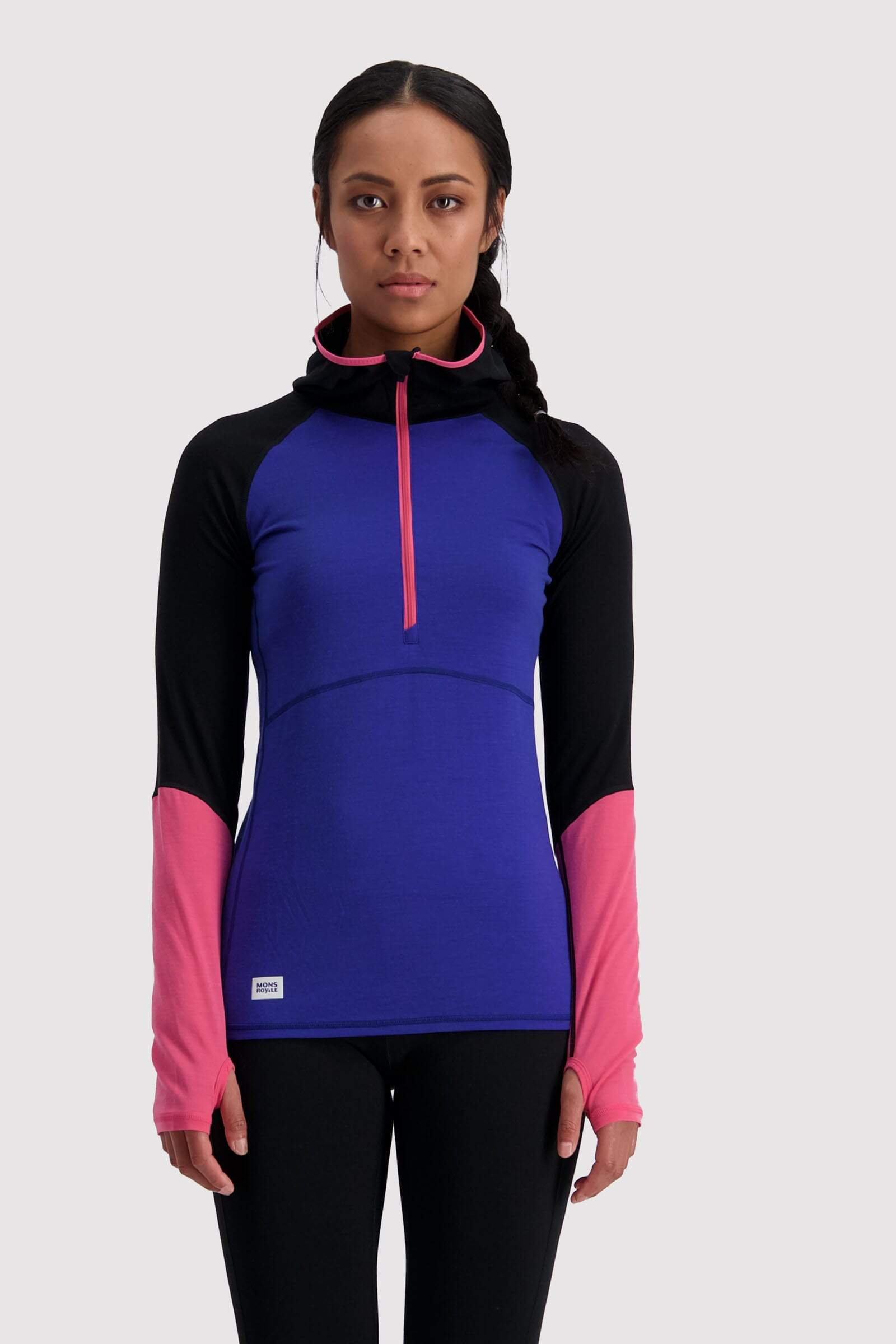 Bella Tech Hood - Ultra Blue / Black