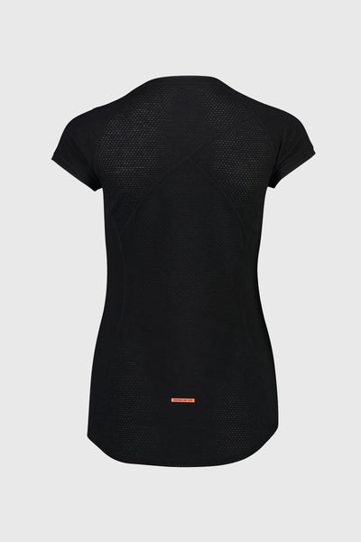 Bella Tech Tee - Black / Neon