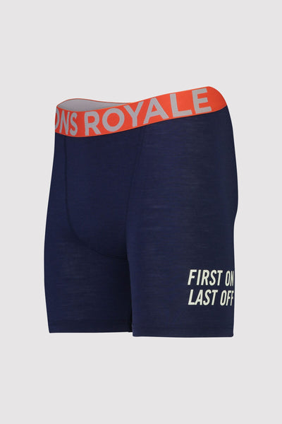 Hold 'em Boxer - Navy / Orange Smash