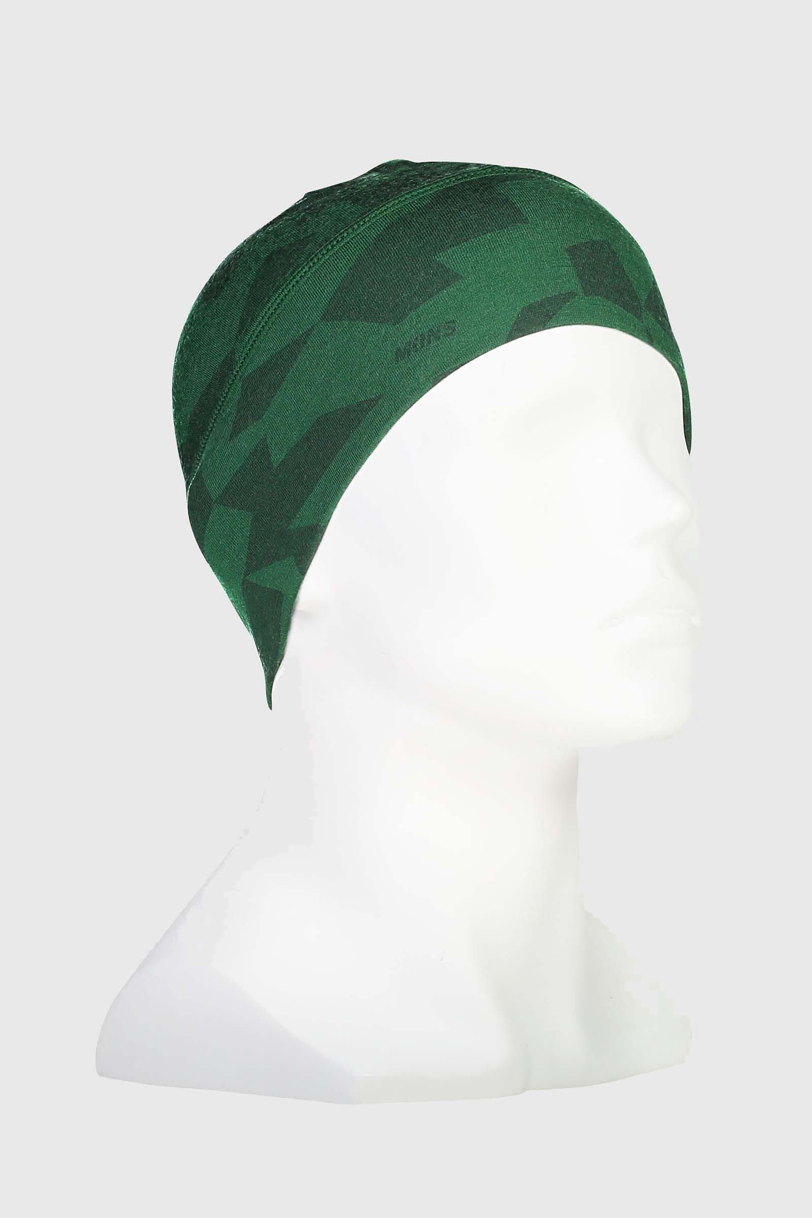 Tech Under Helmet Beanie - Pine Camo