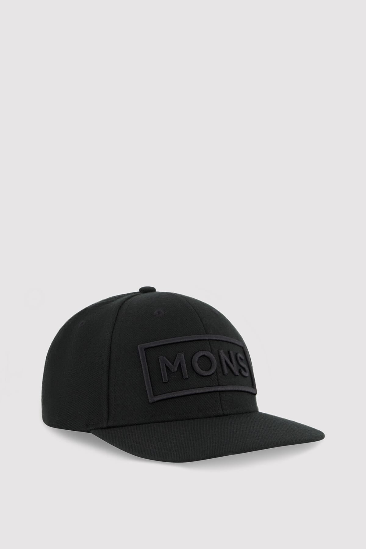 Wool Connor Cap - Black