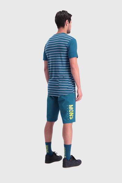 Cadence T - Oily Blue / Latitude Stripe