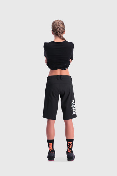 Momentum Bike Shorts - Black