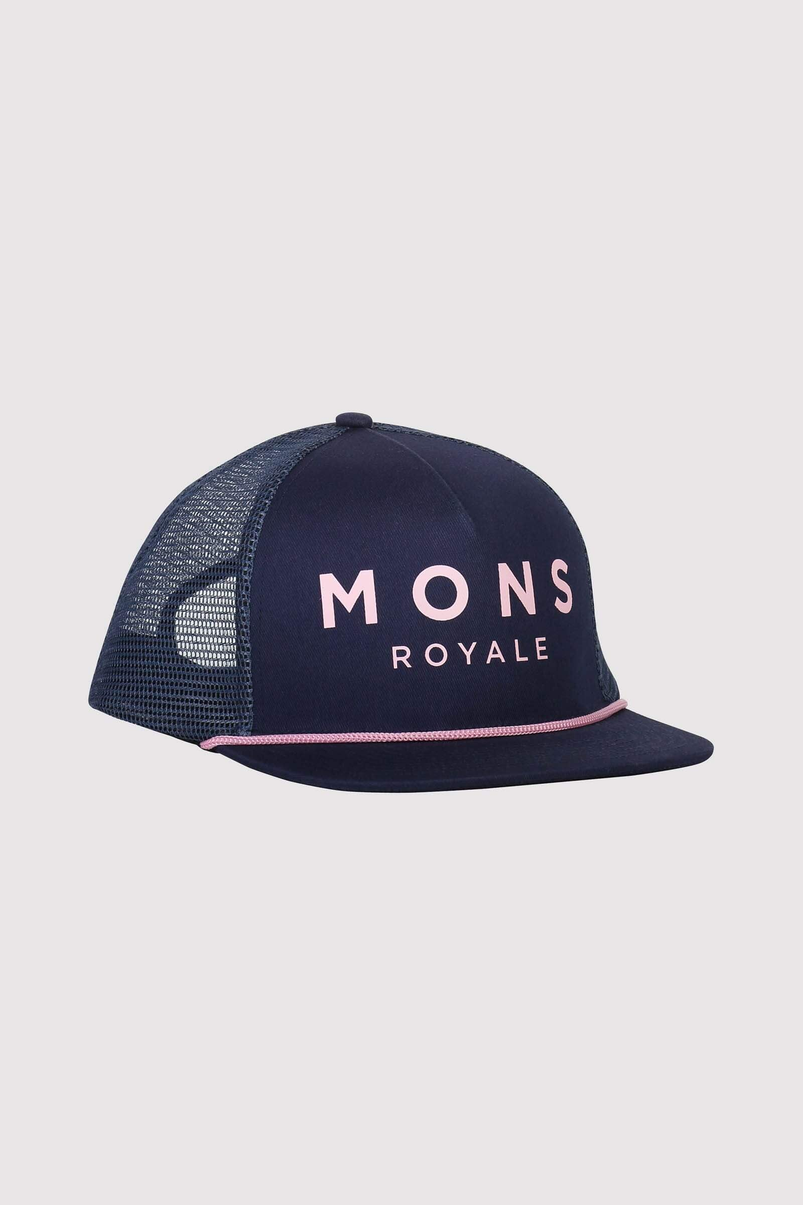 The ACL Trucker Cap - Dark Denim / Powder Pink