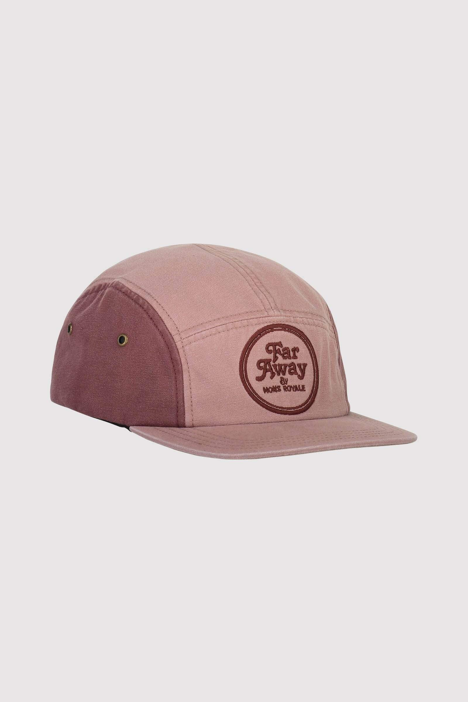 Beattie 5 Panel Cap - Pink Clay