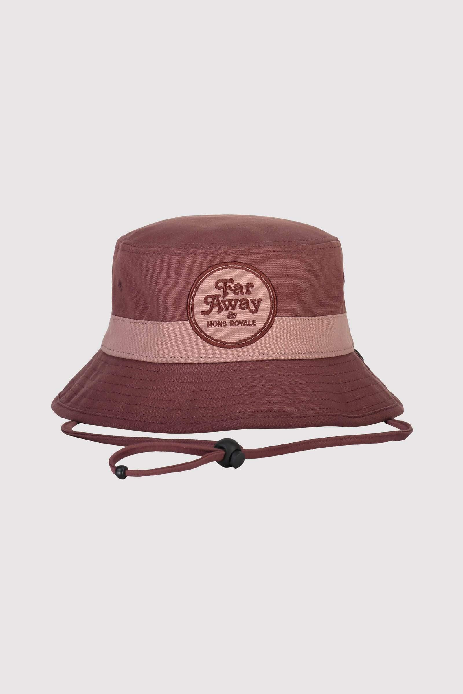 Beattie Bucket Hat - Pink Clay